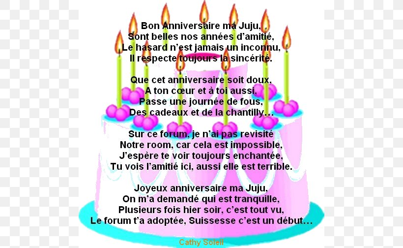 Happy Birthday Poema Text Poetry Png 500x504px Birthday