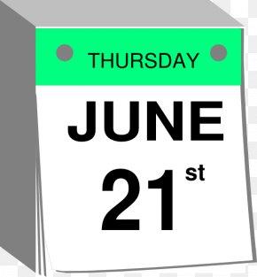 June Calendar Cliparts - Calendar June Clip Art PNG