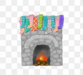 Hand-painted Firewood Stove - Firewood Furnace Hearth PNG