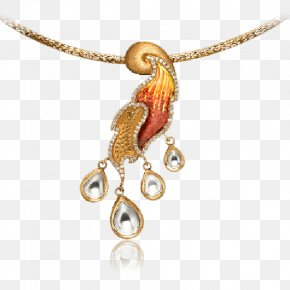 Jewellery - Pendant Earring Jewellery Necklace Gold PNG