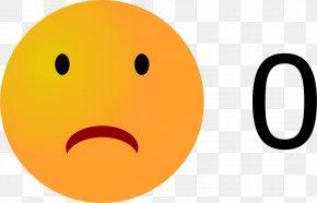 Sad Emoji - Smiley Emoticon Clip Art PNG