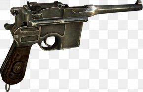Weapon - Mauser C96 Firearm Pistol 7.63×25mm Mauser PNG