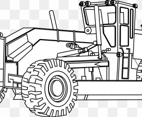 Tractor - John Deere Caterpillar Inc. Colouring Pages Coloring Book Agricultural Machinery PNG