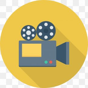 Film Camera Icon - Filmmaking Cinematography Movie Camera PNG