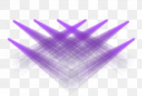 Purple Cross Wedding Lighting - Lighting Purple PNG