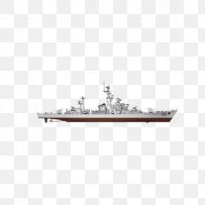 Model - Warship Toy Model PNG