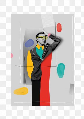 Creative Graphic Design Of Artistic Characters - Graphic Design Art Poster PNG