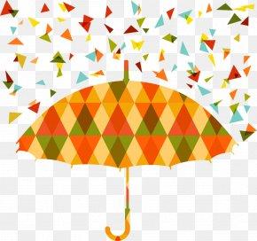 Vector Triangle Stitching Umbrella - Stock Photography Umbrella Royalty-free Illustration PNG