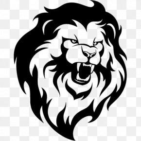 Lion - Lion Roar Drawing Clip Art PNG