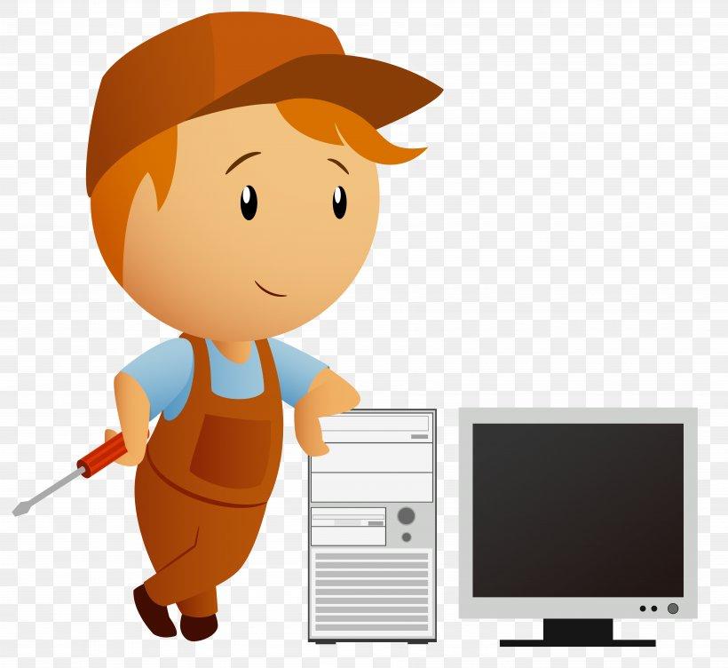 Computer Repair Technician Cartoon Png 7168x6579px Laptop Cartoon Clip Art Computer Computer Repair Technician Download Free