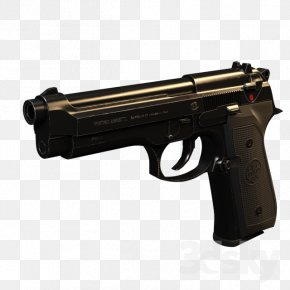 Beretta M9 - Trigger Airsoft Guns Firearm Ranged Weapon PNG