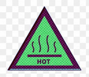 Triangle Warning Icon - Attention Icon Hot Icon Sign Icon PNG