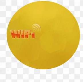 Wifi - Brand Material Yellow PNG