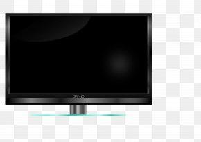 Television - Plasma Display LED-backlit LCD Television Set Clip Art PNG