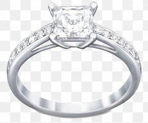 Swarovski Jewelry White Gold Ring - Ring Size Swarovski AG Jewellery Amazon.com PNG