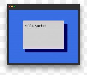 Computer - Computer Monitors Computer Program Screenshot Picture Frames Font PNG