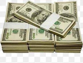 Dollar Bill - United States Dollar Banknote United States One-dollar Bill Money United States One Hundred-dollar Bill PNG