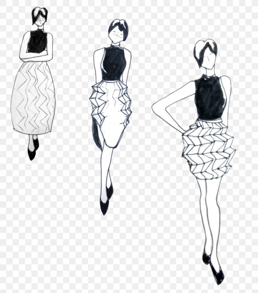 Fashion Illustration Drawing Clothing Sketch Png 1079x1226px Fashion Illustration Black And White Clothing Clothing Accessories Costume