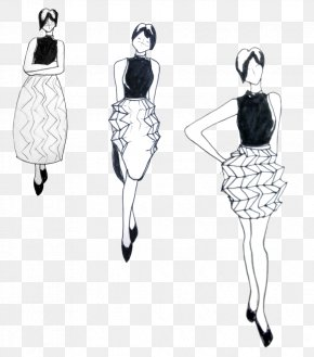 Design - Fashion Illustration Drawing Clothing Sketch PNG