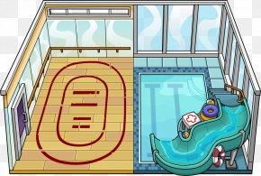 Igloo - Club Penguin Igloo Game YouTube PNG