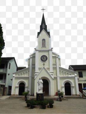Shanghai Catholic Church - Roman Catholic Diocese Of Shanghai Qibao Old Street U4e0au6d77u57ceu5e02u8d85u5e02u6709u9650u516cu53f8u6caau9752u5e97 Church PNG