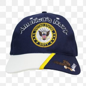 Navy Military Caps - United States Of America Baseball Cap United States Navy PNG
