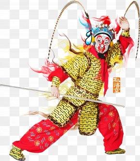Peking Opera Monkey HD Free To Pull The Material - Sun Wukong Peking Opera Download PNG
