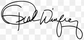 United States - Chat Show United States Television Presenter Film Producer Signature PNG