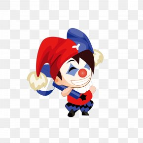 Cartoon Clown - Joker Clown Cartoon PNG