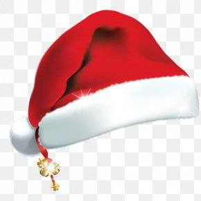 Christmas Santa Hat Transparent Element Material - Santa Claus Hat Christmas Santa Suit PNG