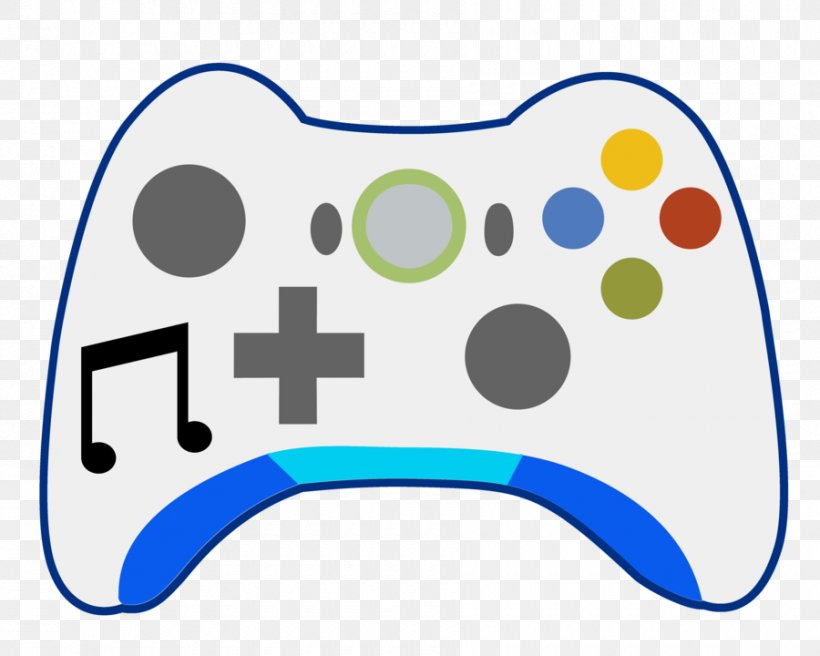 Xbox 360 Controller Xbox One Controller Clip Art Png 900x720px