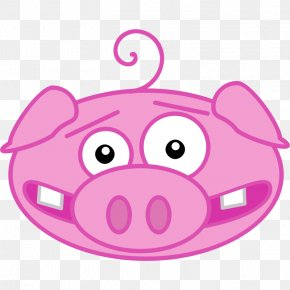 Pink Pig Pictures - Domestic Pig Free Content Clip Art PNG
