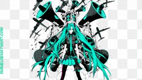 Hatsune Miku - Hatsune Miku Desktop Wallpaper 4K Resolution High-definition Television High-definition Video PNG