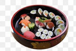 Sushi - California Roll Sushi Sashimi Gimbap Onigiri PNG