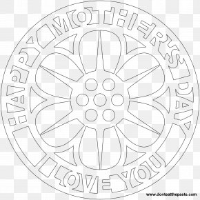 Mother's Day - Mandala Coloring Book Mother's Day PNG