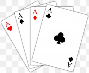 Ace Playing Card - Playing Card Court Piece Cassino Card Game Ace PNG