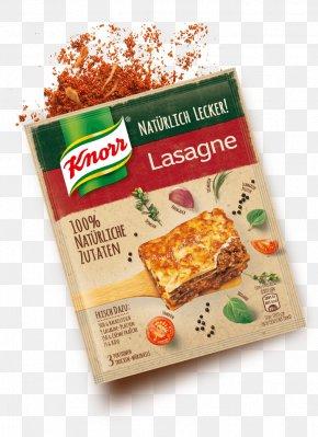 Vegetarian Cuisine Lasagne Bolognese Sauce Recipe Knorr PNG