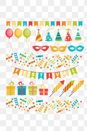 Birthday Party Posters Birthday Vector Material - Party Birthday Clip Art PNG