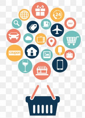 Internet Shopping Icon Vector Material - Web Development Web Design Online Shopping E-commerce Icon PNG