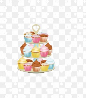 Tiering Cliparts - Cakes And Cupcakes Icing Clip Art PNG