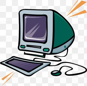 Cartoon Computer Vector Material - Computer Keyboard Computer Mouse Clip Art PNG