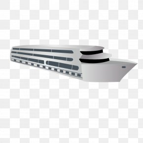Vector Simple White Yacht Cruise Yacht - Cruise Ship Yacht PNG