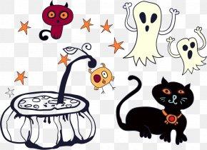 Halloween Design Elements - Halloween Euclidean Vector Illustration PNG