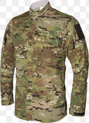 T-shirt - Military Camouflage T-shirt MultiCam Amazon.com PNG