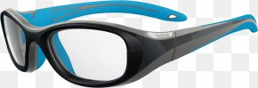 Person Wearing Safety Glasses - Goggles Boll Crunch 52 Medium Eyeglasses, White And Pink Eyewear Eye Protection PNG
