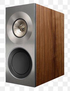 Speaker - Loudspeaker Bookshelf Speaker KEF High Fidelity Sound PNG