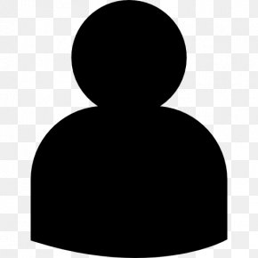 People Icons - Black White People PNG