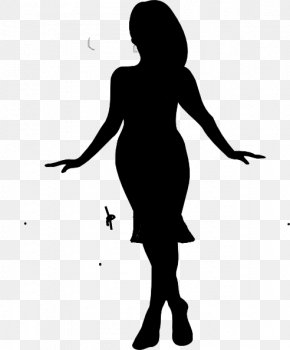 Lady Clip Art - Drawing Silhouette Clip Art PNG