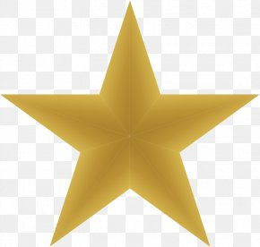 5 Stars - Star Template Gold Clip Art PNG