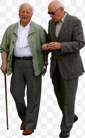 People - Kaestle&ocker Walking Old Age Elderly PNG
